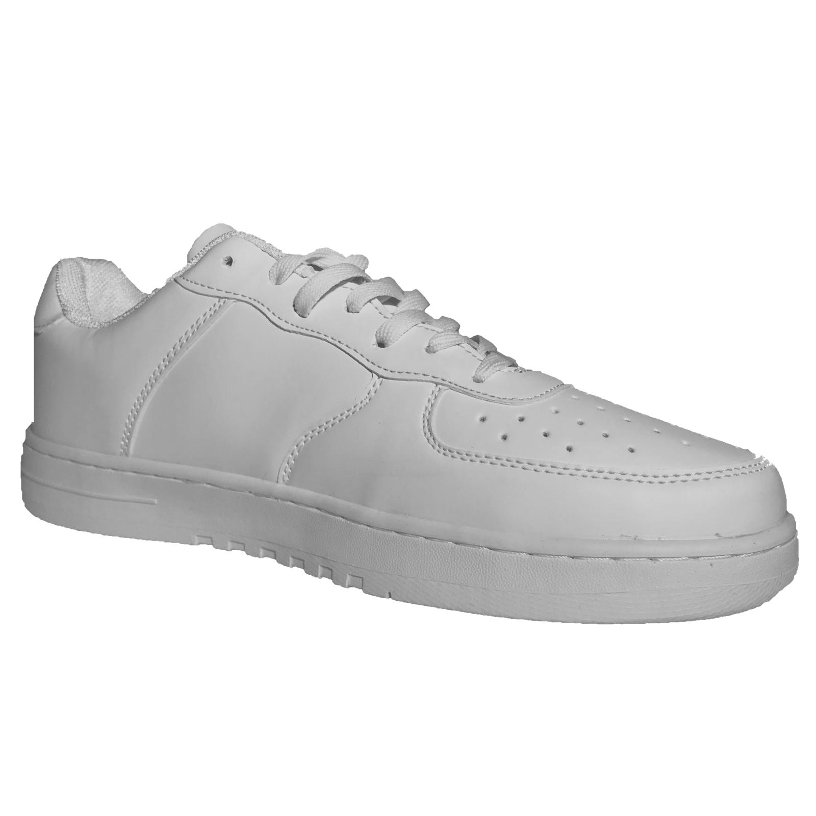 Scarpe-Ginnastica-Uomo-Pelle-PU-Nero-Running-Passeggio-Tipo-Nike miniatura 9