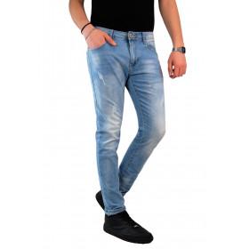 Jeans Uomo Chiaro Denim...