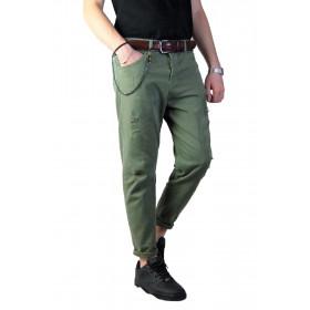 Jeans Uomo Nero Casual Slim...
