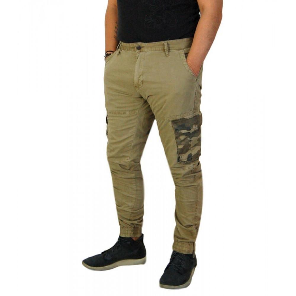 Pantaloni Cargo Uomo Mimetico Moda Uomo | Kalidu Store