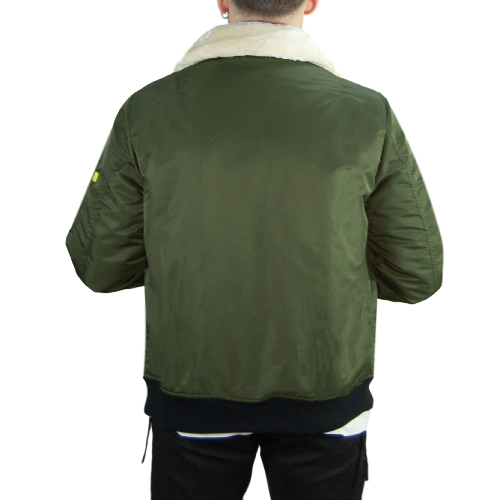 Giubbotto-Uomo-Invernale-Bomber-Impermeabile-Giacca-Casual-Giubbino-Pelliccia miniatura 18