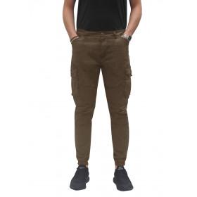 Pantalone Uomo Cargo Con...
