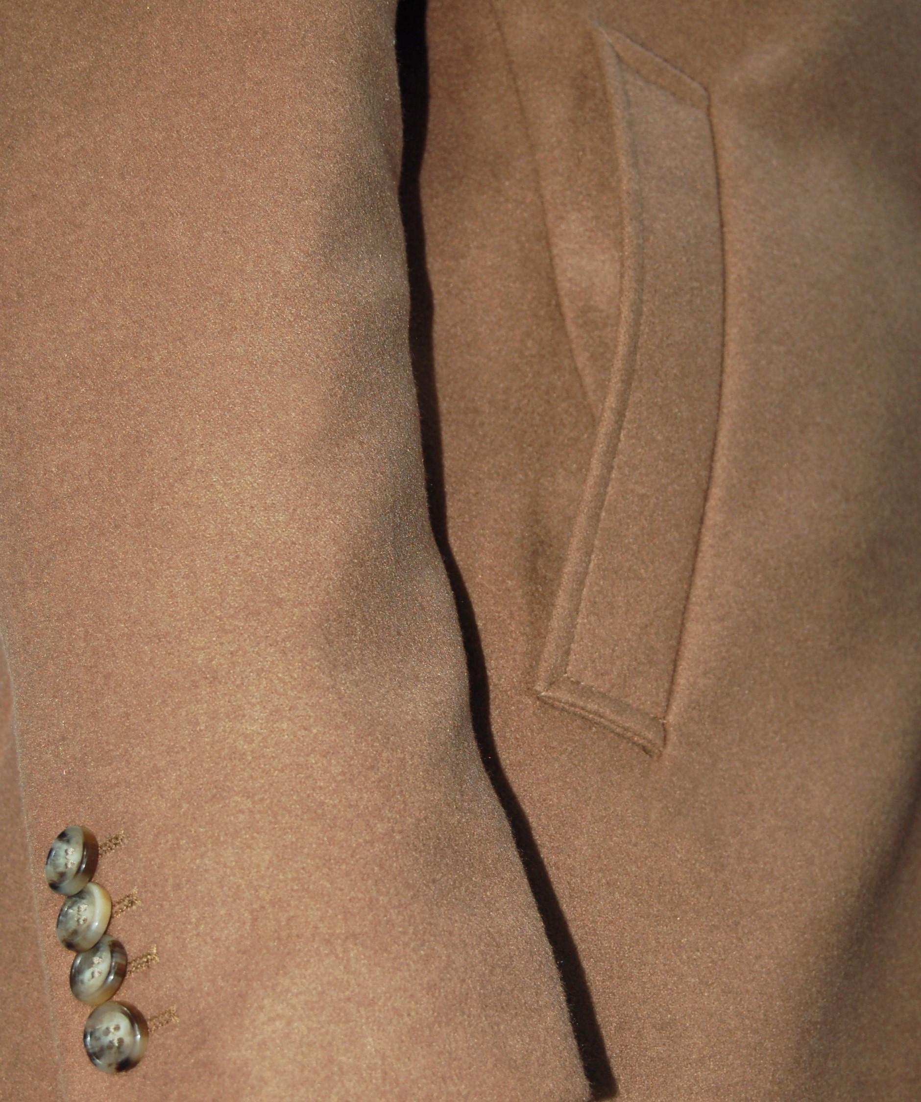 Cappotto-Uomo-Elegante-Giubbotto-Invernale-Blu-Camel-Trench-Lungo miniature 22