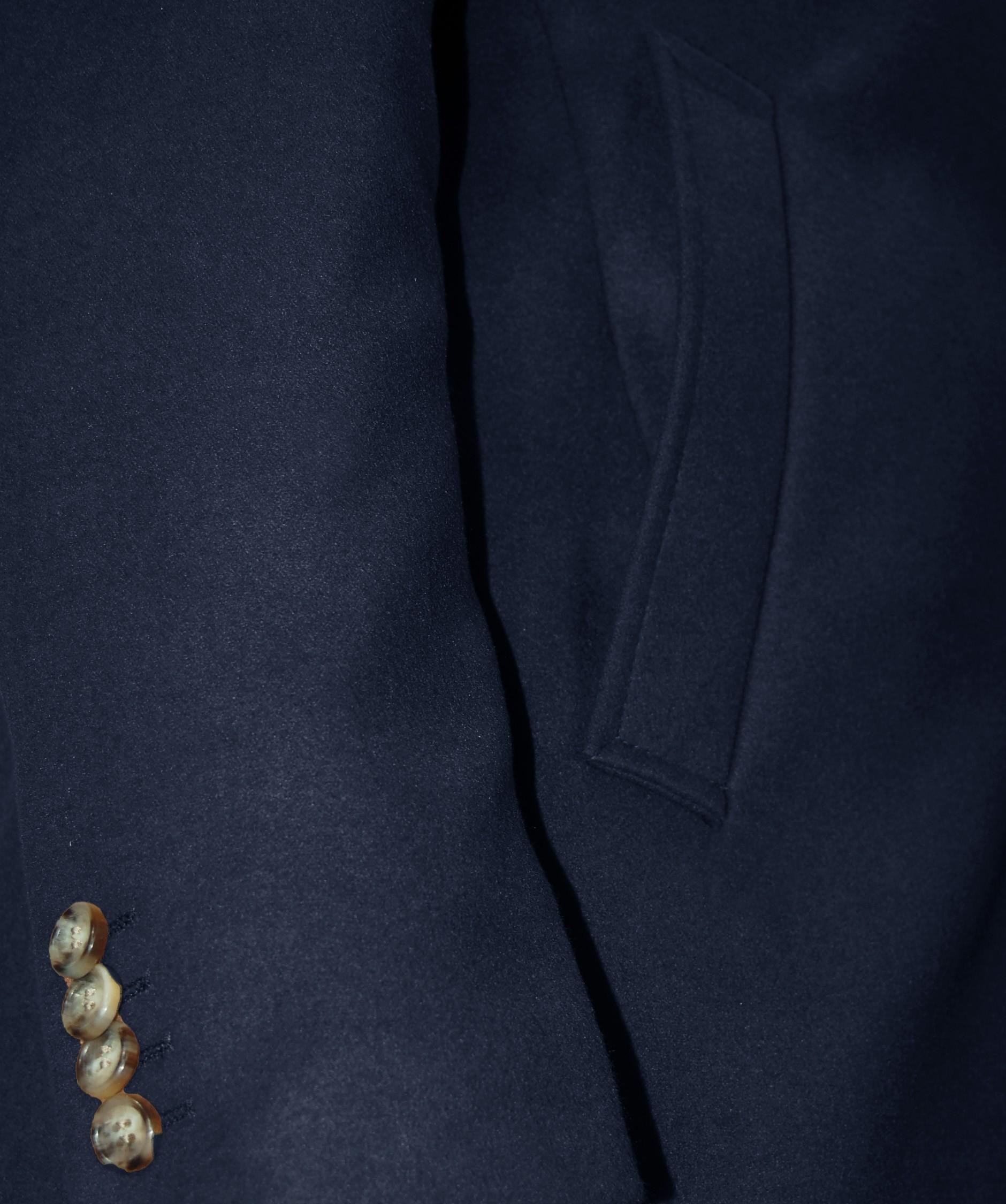 Cappotto-Uomo-Elegante-Giubbotto-Invernale-Blu-Camel-Trench-Lungo miniature 16