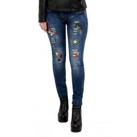 Jeans donna strappati...