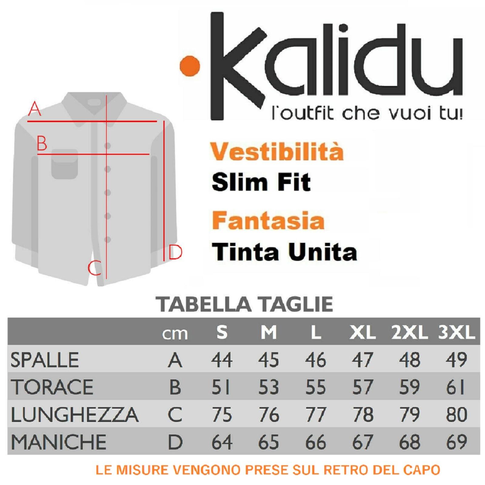 Camicia-Uomo-Celeste-Bianca-Slim-Fit-Manica-Lunga-Sartoriale-Cotone-TG-S-7XL miniatura 15