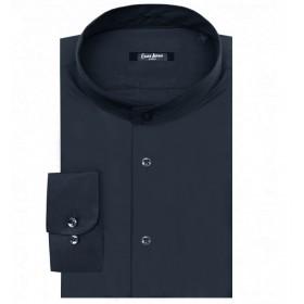 Camicia Uomo Collo Coreana...