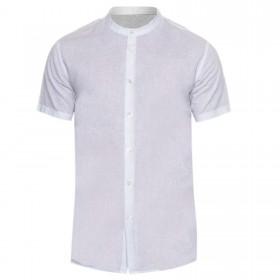 Camicia Lino Uomo Coreana...