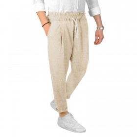 Pantalone Uomo Misto LINO...